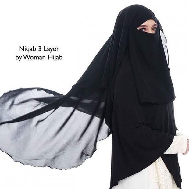 Niqab 3 Layer