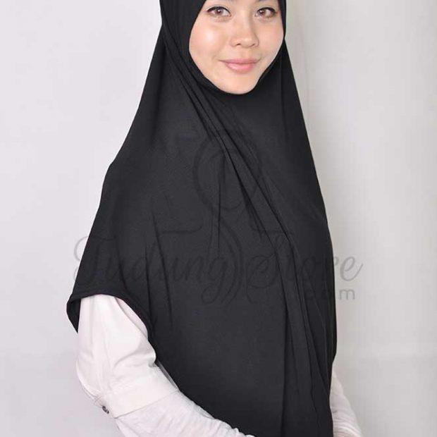 Sarung Express Hijab Size XL (Dagu) Moss Crepe