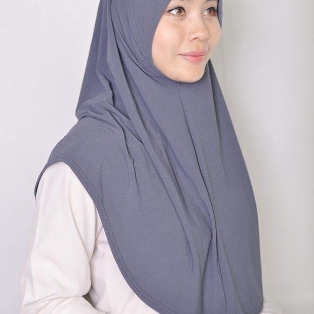 Sarung Express Hijab Size L (Takde Dagu) Moss Crepe