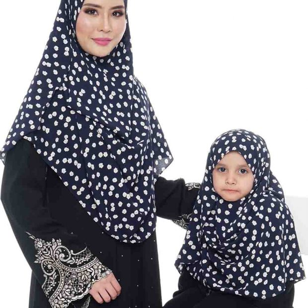 Instant Shawl Double Loop Printed