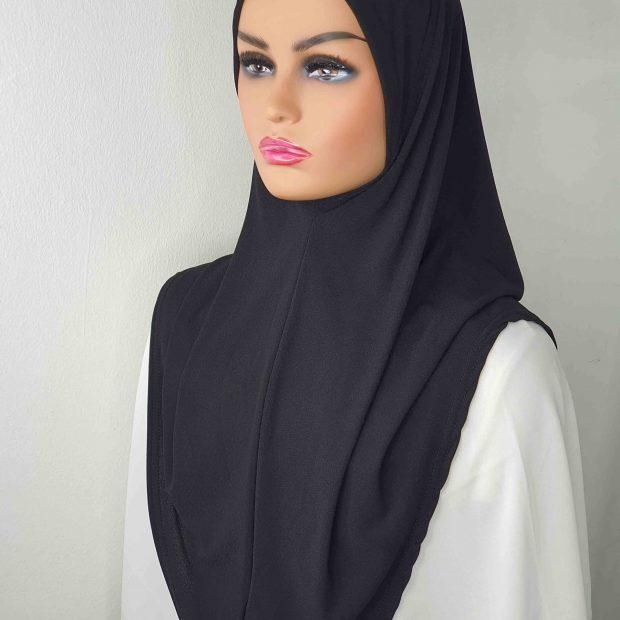 Sarung Express Hijab Size M (Takde Dagu) Moss Crepe