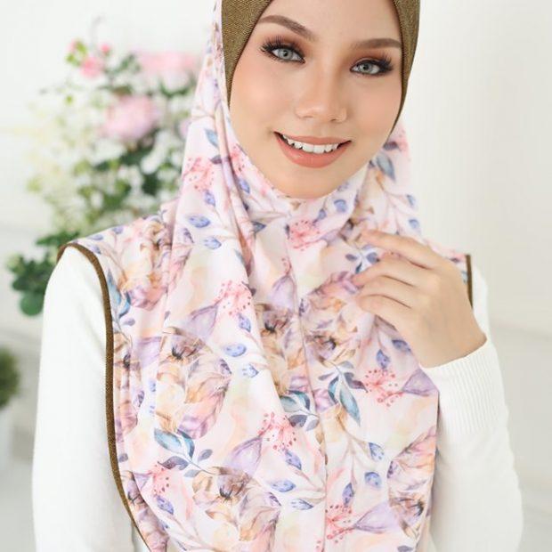 Aisyah Premium Series Sarung Express Hijab Size XL Korean Silky Moss Crepe Awning Cotton Denim