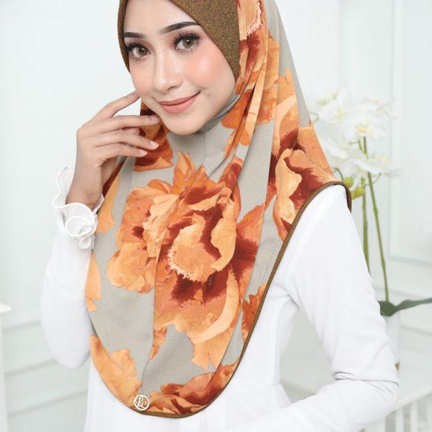 Aisyah Series Sarung Express Hijab Size XL Korean Silky Moss Crepe Awning Cotton Denim