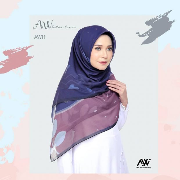 """Bawal Printed Series Square 50"""" Cotton Voile"""