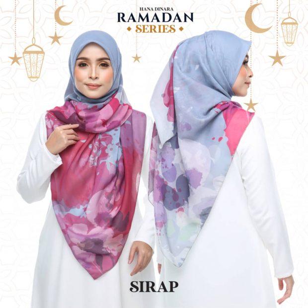 "Ramadan Series Square 50"" Cotton Voile"