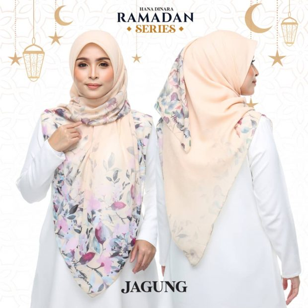 "Ramadan Series Square 60"" Cotton Voile"